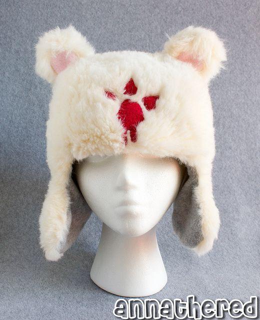 stuffed stuff: Ushanka hat (a.k.a Castle Crashers bear hat)