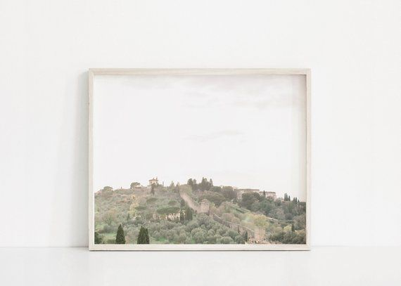 Tuscany Wall Art Tuscany Italy Photography Italy Landscape Etsy Florence Wall Art Wall Art Prints Travel Art Print