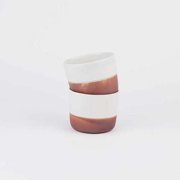 Cups from Norwegian maker Margit Seland