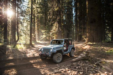 "2014 Jeep Wrangler 2 Door Model Named ""Rubicon X"""