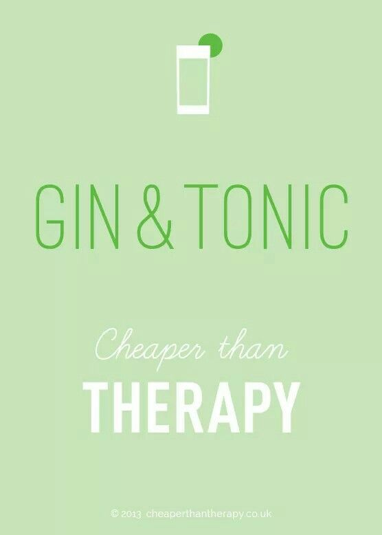 "For my husband the ""Gin Lover"""