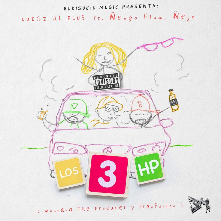 Luigi 21 Plus Ft. Ñengo Flow & Ñejo - Los 3 HP https://www.facebook.com/reggaetonAgresivo/ ReggaetonAgresivo.com