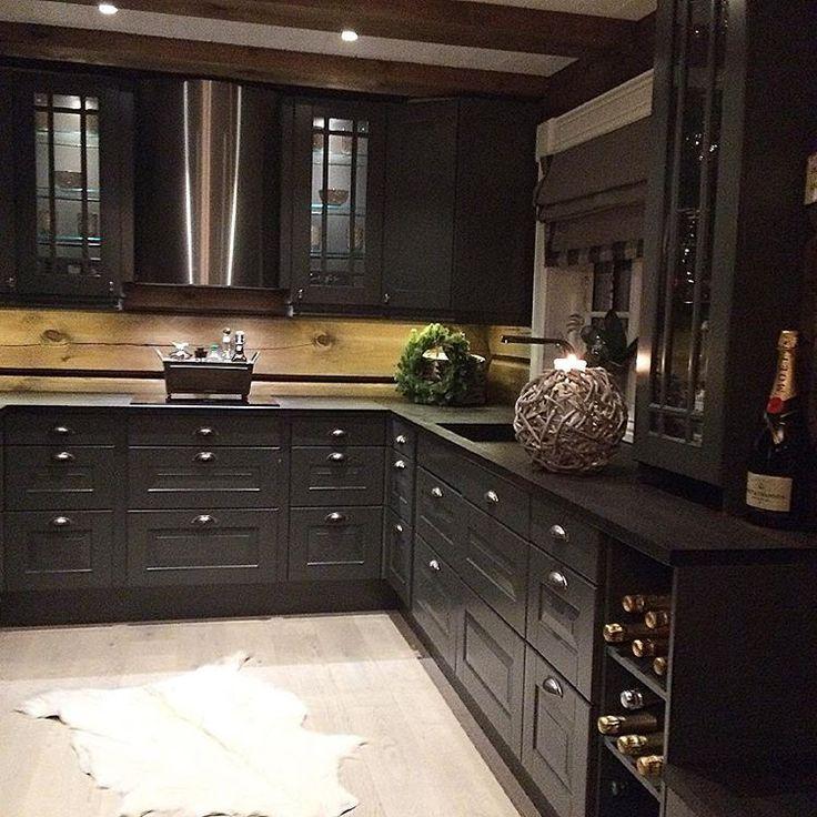 The cabin kitchen #sigdal #sigdalkjøkken #sigdallørenskog #interior4you1 #interior4all #interior123 #interior #hytteliv #hyttemagasinet #kjøkken#cabin#cottage#interiorgarden#123hytteinspirasjon