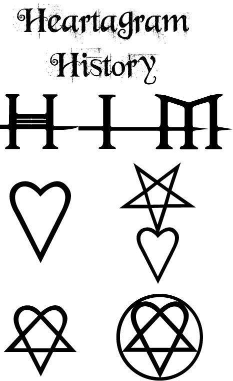 Heartagram History by BennyBlonko