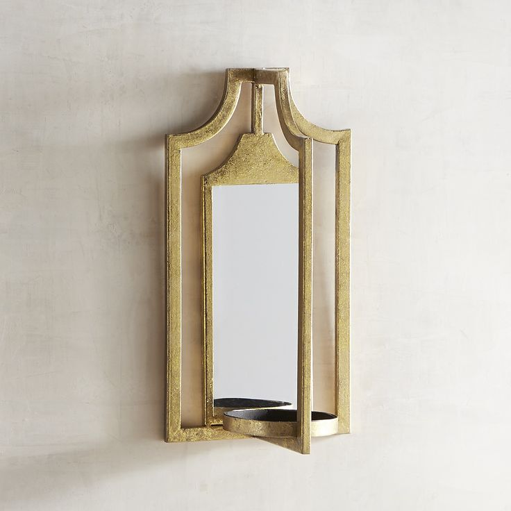 Alexander Candle Holder Wall Sconce