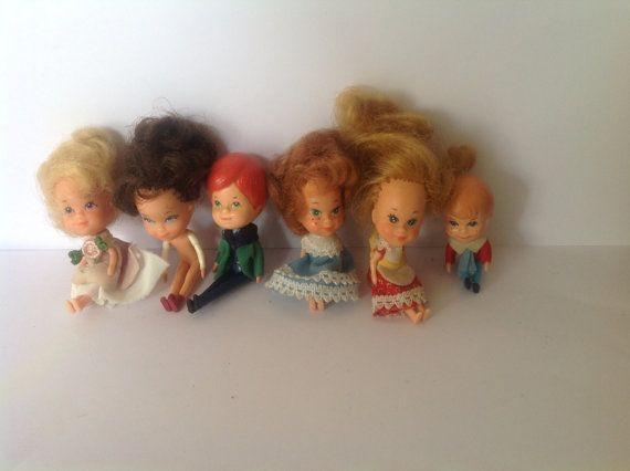 Miniature dolls for a dolls house made by Mattel by NJscollection, £15.00