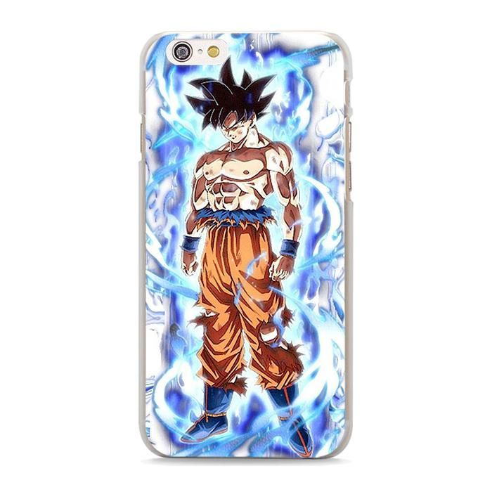 Dragon Ball Z DBZ SSJ Anime Basic Shadow iphone case