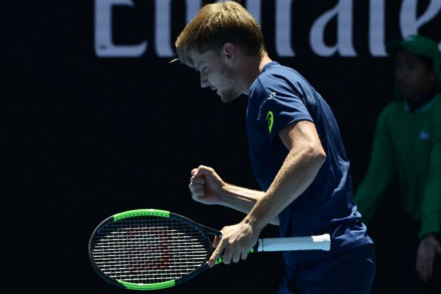 1/23/17 Belgium's Goffin into last eight with win over eighth seed Thiem ..  David Goffin goes through to his second grand slam quarter-final, defeating Dominic Thiem in four sets at the Australian Open.  abc.net.au