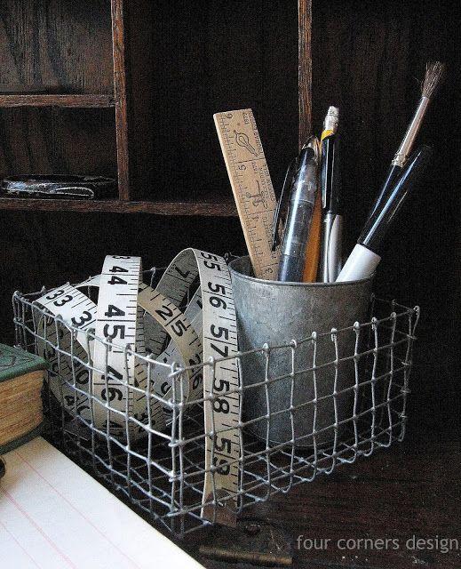 DIY: wired basket