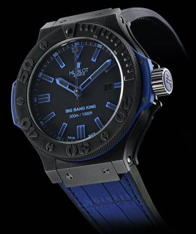 Hublot Big Bang King All Black Blue Watch