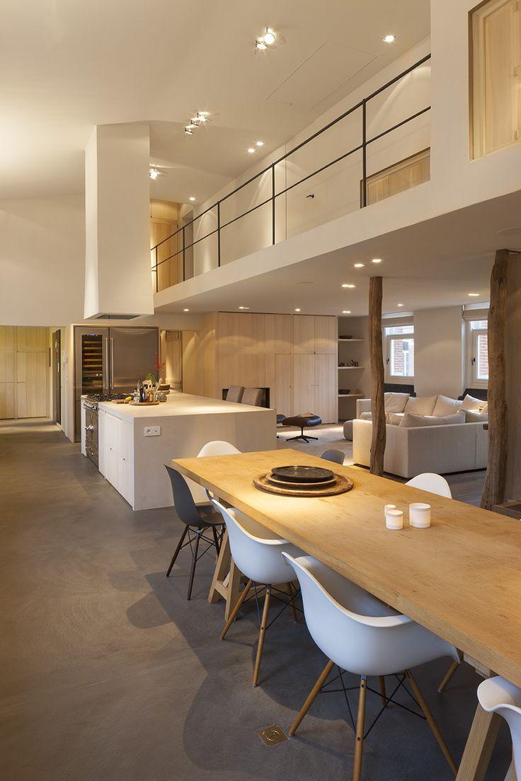 Interieurfoto's loft Antwerpen voor Herbosch-Van Reeth architectuur