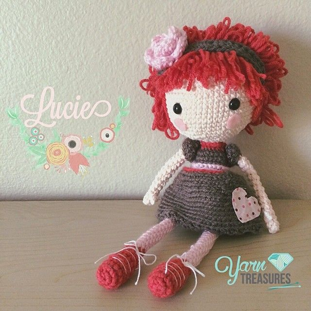 Crochet Pattern Human Doll : 285 best Amigurumi Crochet Humans images on Pinterest ...