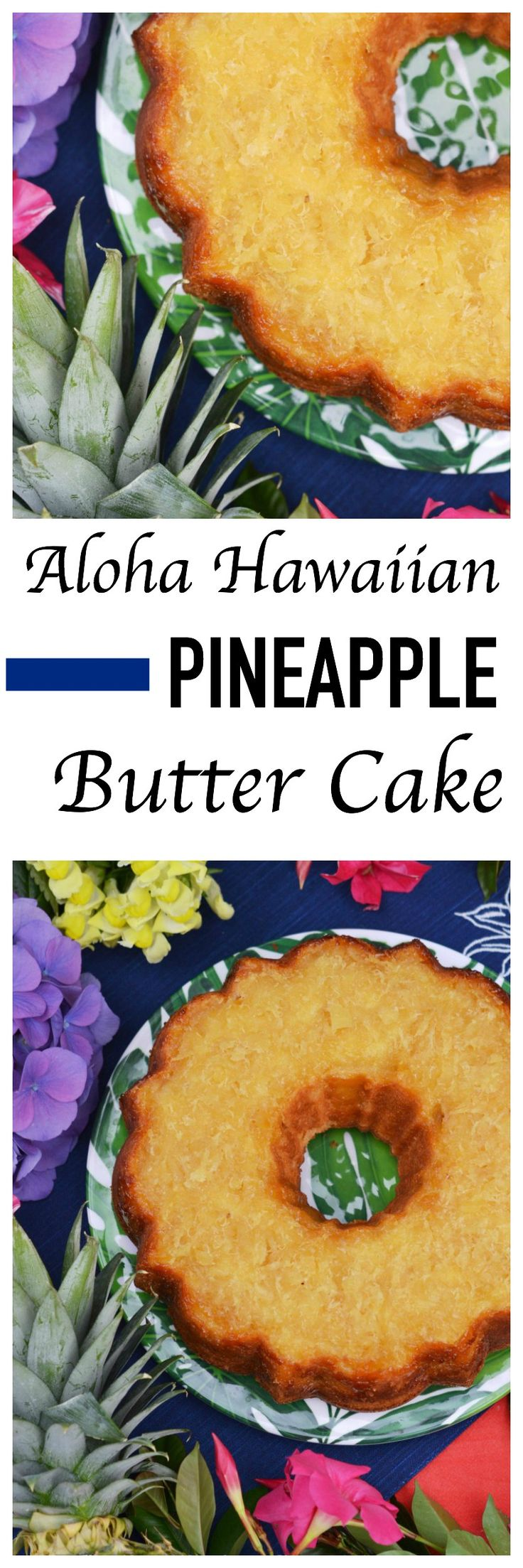 Aloha. The sweet pineapple and decadent butter flavoring in this tropical Bundt cake truly make you feel like you have arrived in a Hawaiian paradise.