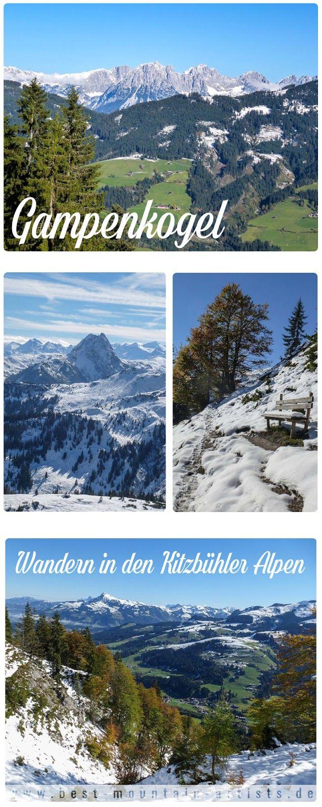 Wandern Kitzbüheler Alpen Tirol: Kirchberg Gampenkogel Brixen