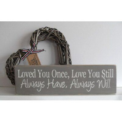 www.hastings-crystal.co.uk >> Valentine Gifts >> Valentines Gifts For Him >> Loved You Once Love You Still Shelf Block