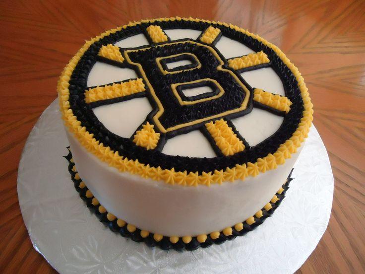 Boston Bruins Cake Happy Birthday 1954 1956 Pinterest
