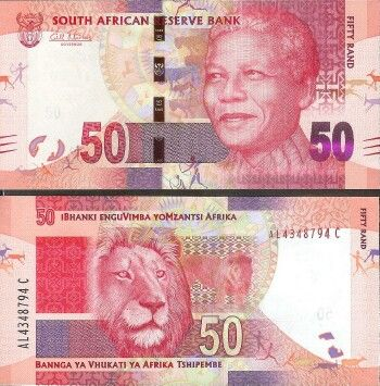 south africa currency | South Africa Cat # 135 50 rand - PC&C - World Banknotes, World Paper ...