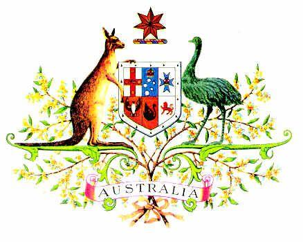 Commonwealth of Australia Coat of Arms • CWA Australia • Australian culture