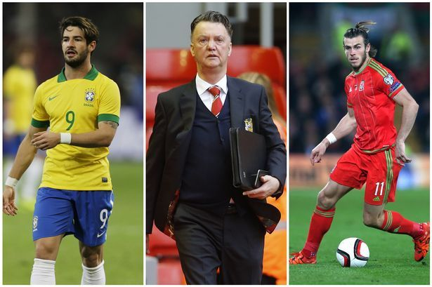 Manchester United transfer news: Van Gaal banned from deals, Bale option, Pato interest, mystery Guardiola meeting - Manchester Evening News