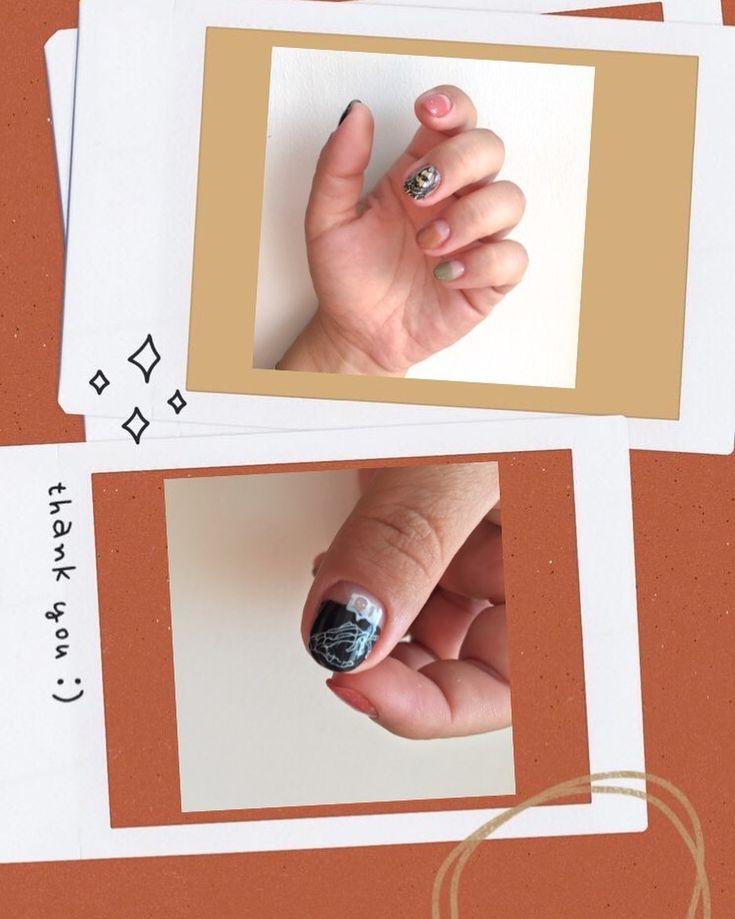 """Bang.cut.nails auf Instagram: """"#helloween ist gleich um die Ecke #october #nai …   – Instagram #nails"""