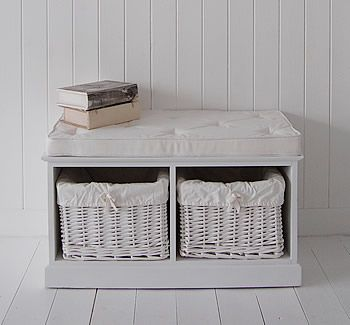 hall furniture shoe storage. hallway storage seat painted white with lined baskets simple hall furniture height inc cushion shoe