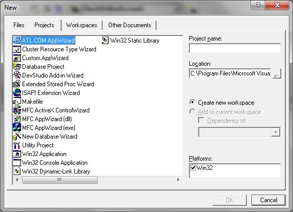 mfc appwizard dll win32 dynamic-link library