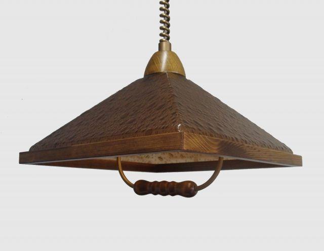 WLA-03/D - luster do kuchyne - dub-dymové bublinky - Svietidlá, lampy, lustre a osvetlenie- eshop