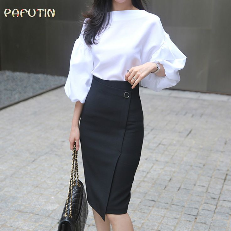 >> Click to Buy << Blusa Hot Sale Broadcloth None Solid Body 2017 Summer New Women's Elegant Temperament Shirt Fashion Collar Lantern Sleeve Women  #Affiliate