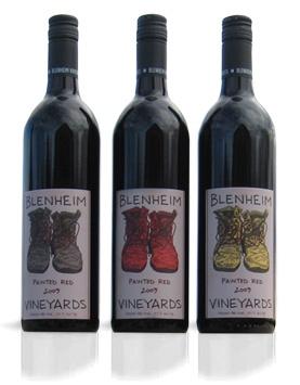 Painted Red Trio 2009-Blenheim Vineyards (Dave Matthews' vineyard)- Charlottesville, VA