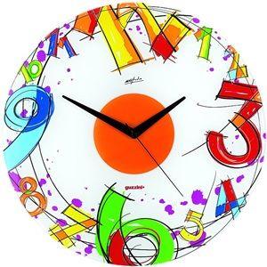 Nástěnné skleněné hodiny Guzzini Number