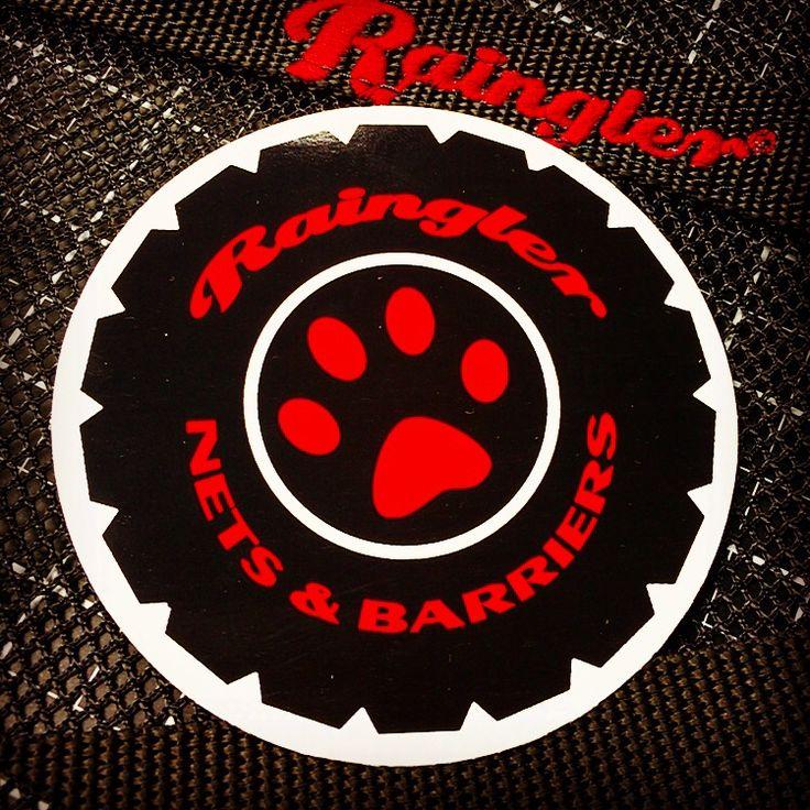 #RAINGLERNETS new logo on decals.  Get 'em free with order @  www.raingler.com
