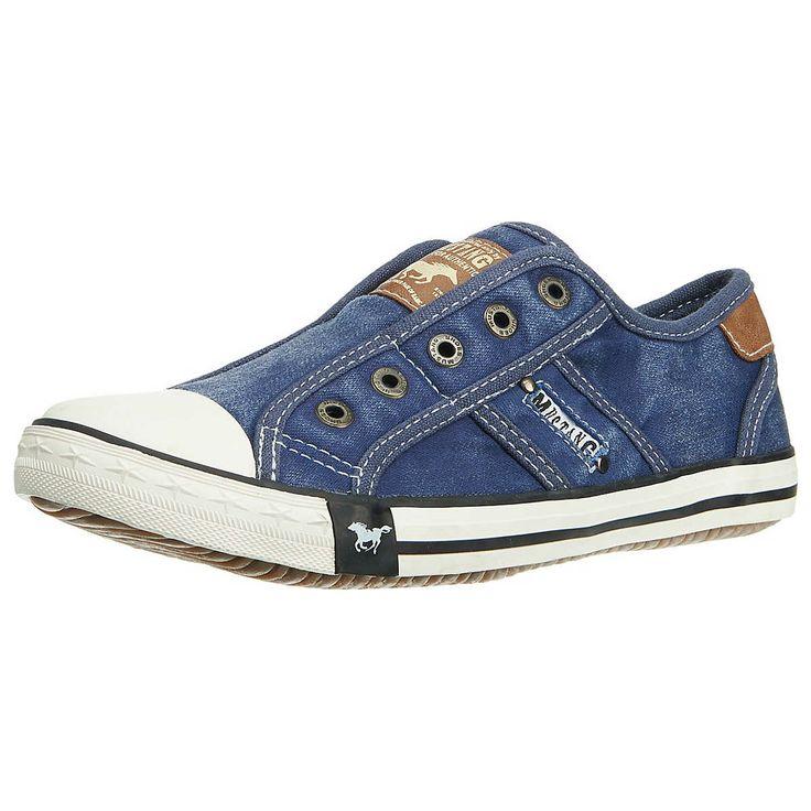 MUSTANG Sneakers in Jeansblau