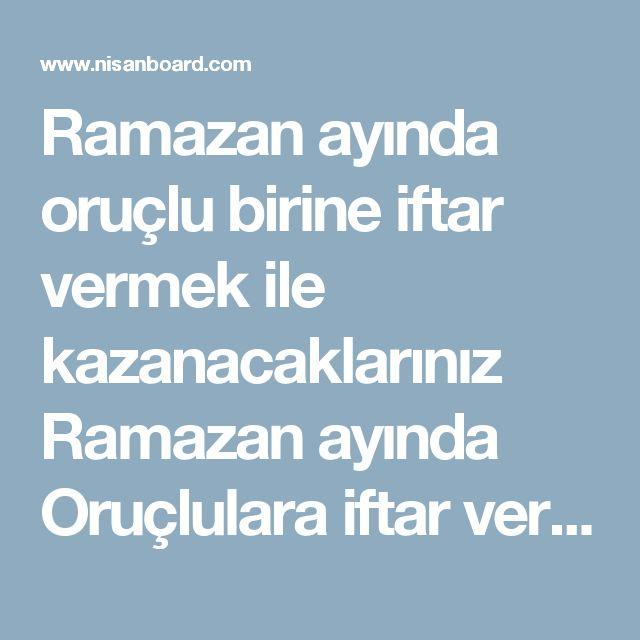 """Ramazan ayında oruçlu birine iftar vermek ile kazanacaklarınız  Ramazan ayında Oruçlulara iftar verenle, Cebrail (as) musafaha ederEbu'ş -Şeyh İbn Hıbban'ın bir rivayetinde Rasulullah (asm) şöyle buyurmuştur:""""Ramazan ayında kim helal kazancından bir oruçluyu iftar ettirirse, Ramazan'ın bütün gecelerinde melekler ona dua eder ve kadir gecesinde Cebrail (as) onunla musafaha eder (tokalaşır) Cebrail (as) kiminle musafaha ederse, onun kalbi incelir ve gözlerinin yaşı çoğalır. Ravi der ki:– Ya…"""