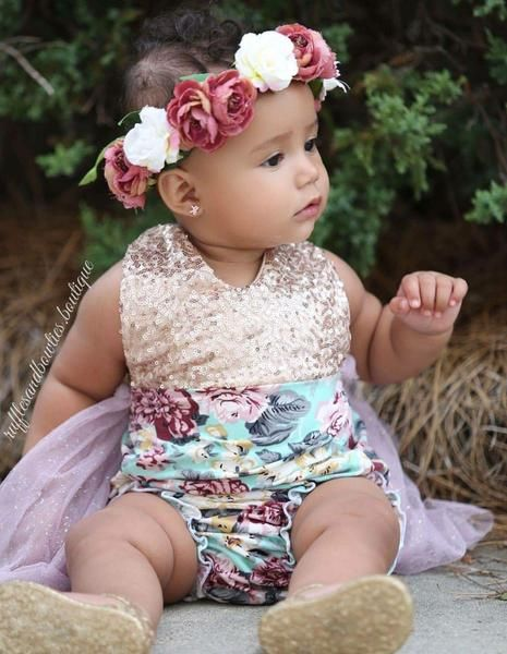 96f37df112c Shop now floral tutu romper for you little angel at best price. We have  variety of birthday outfits for baby girls. Available in Aqua
