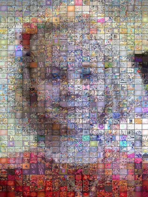 Amazing! Mosaic Art Quilt