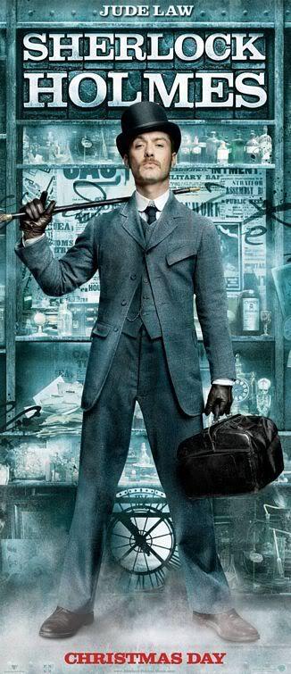 "sherlock holmes movie dr watson | Poster e banners de ""Sherlock Holmes"""