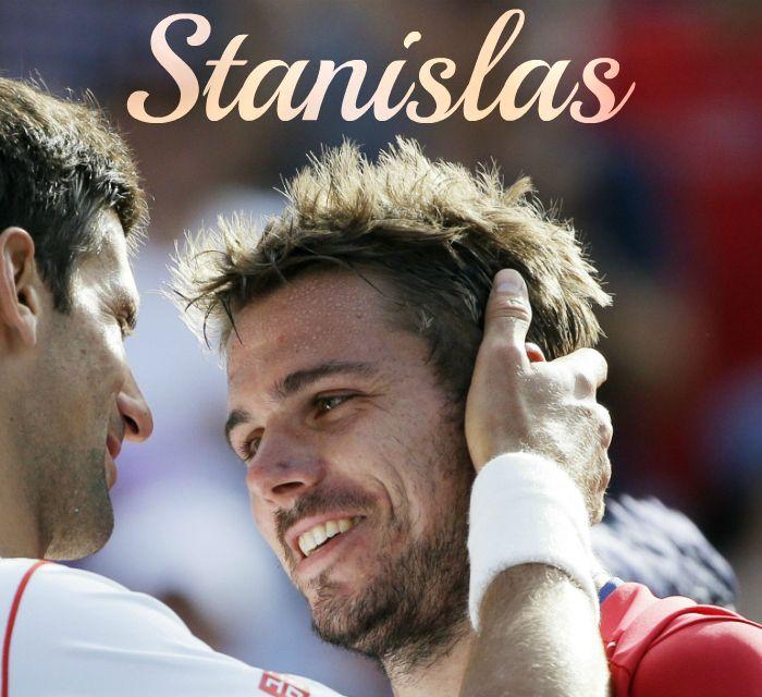 Novak Djokovic and Stanislas Wawrinka • Tennis Players
