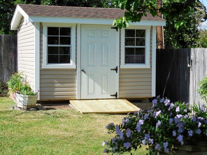 17 best images about garden sheds storage sheds on for Custom storage sheds