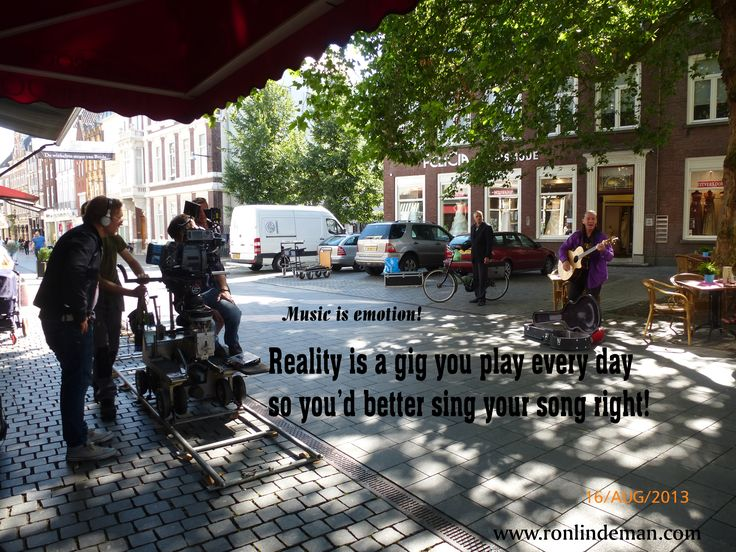 Reality is a gig you play every day