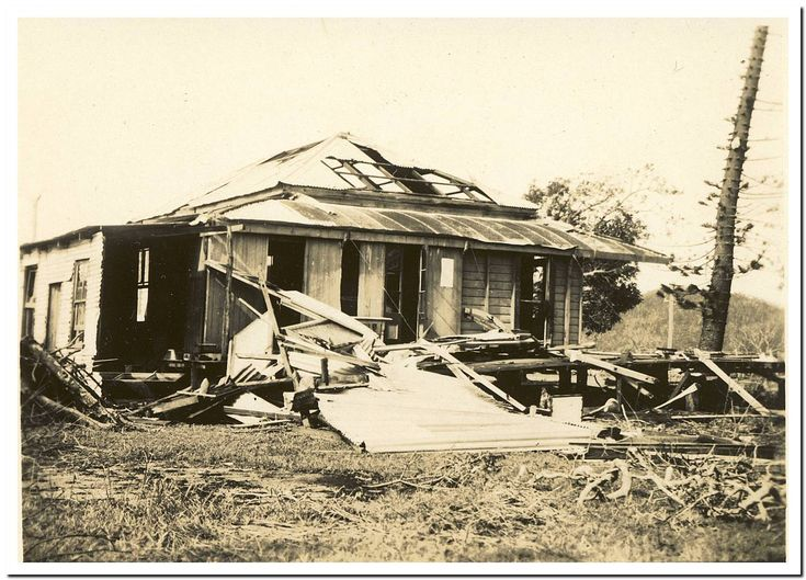 1949 Cooktown Cyclone: Sycamore's old place.