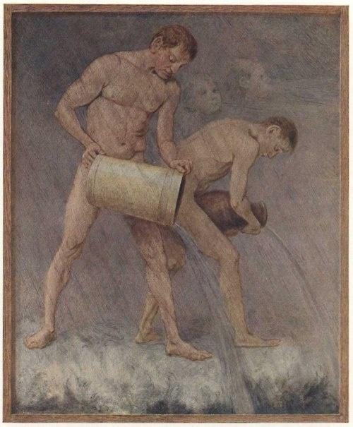 .: Thomas November, Filehan Thomas, Illustrations 19 20Thc, File Hans Thomas, Gay Art, German Painters, D Art Homme, Illustrations 1920Thc, Art 14
