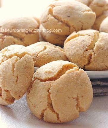 Ghriyba bahla : Gâteau traditionnel marocain – Ma fleur d'oranger                                                                                                                                                                                 Plus