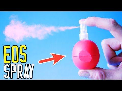 DIY EOS SPRAY PERFUME - EOS Perfume Bottle for to go! - YouTube