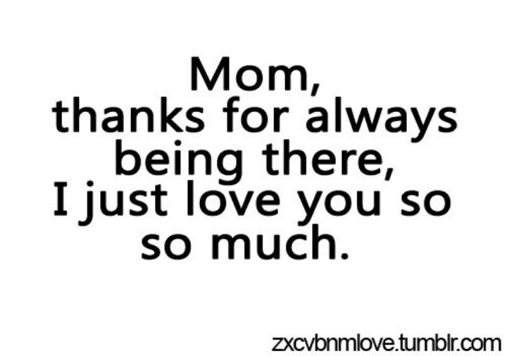 I Love You So Much Mommy