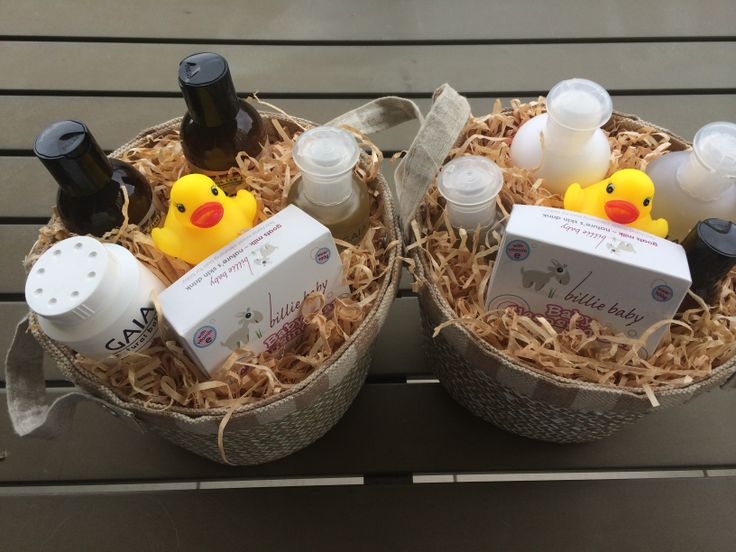 Our Baby Gift Baskets full of natural and organic products. Perfect gift for the new bub