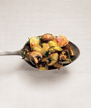 Mushroom and Rosemary Stuffing | Some argue it's the best part of Thanksgiving, so we've dressed up one simple stuffing recipe in a bounty of ways.