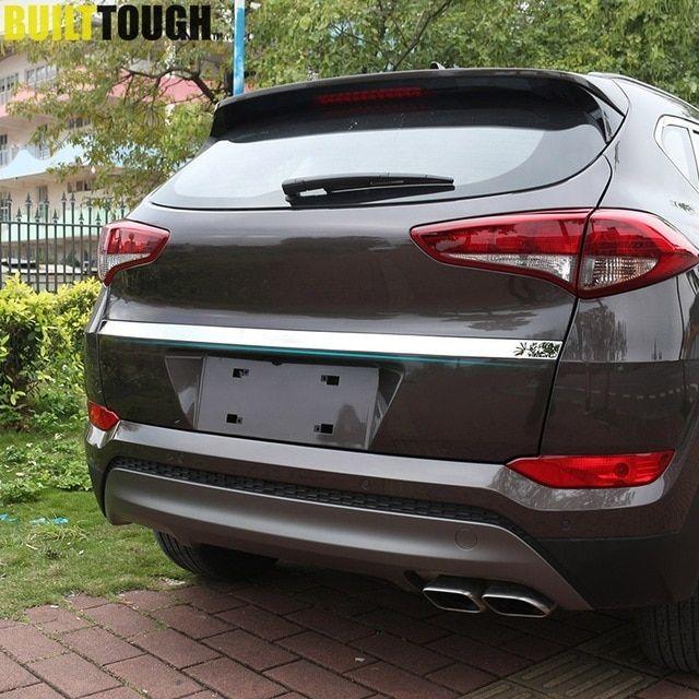 Chrome Rear Door Tailgate Trim Strip Cover To Fit Volkswagen Passat B8 2016+