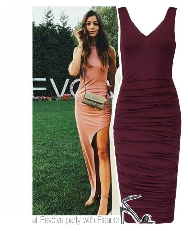 """""""at Revolve party with Eleanor"""" by hazzdimples ❤ liked on Polyvore featuring Bailey 44, Dsquared2 and eleanorcalder"""