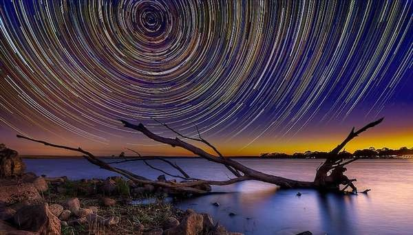 Lincoln Harrison's long exposure star shots