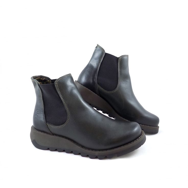 Fly London Salv Pull On Chelsea Boot
